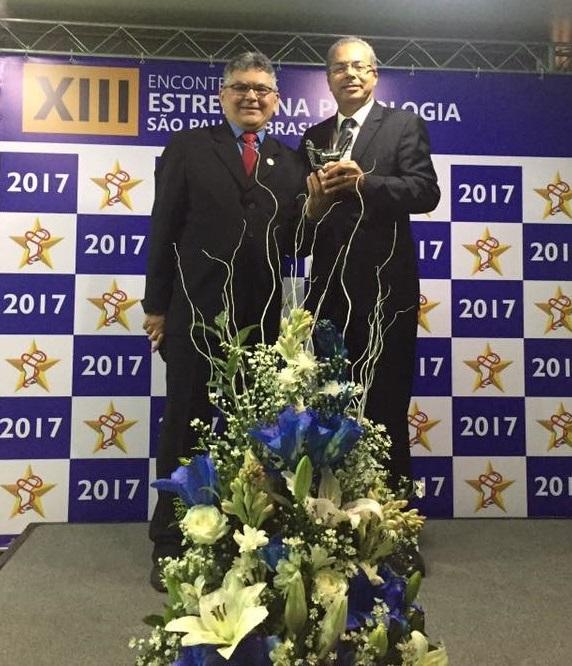 grupo filadélfia é homenageado em evento podologia no brasil